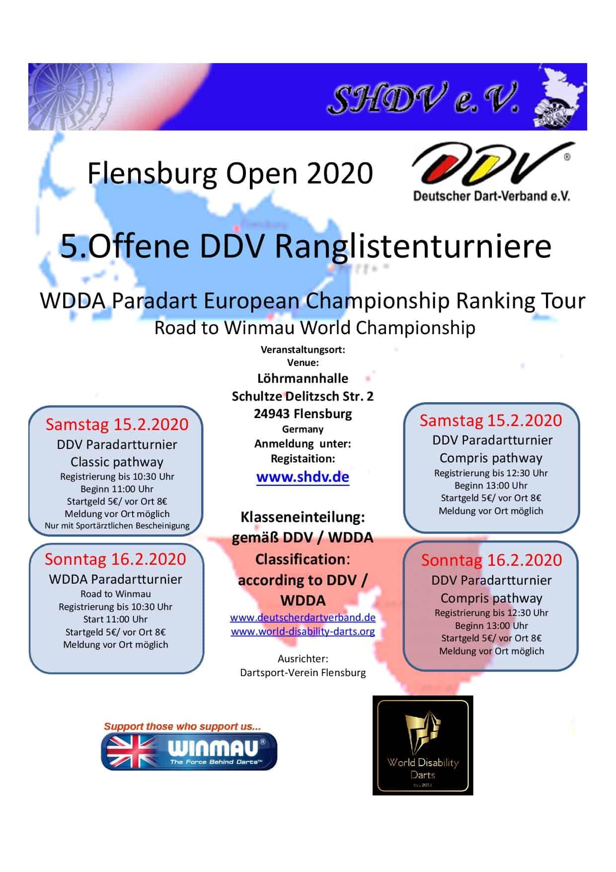 Flensburg Open 2020 Paradart